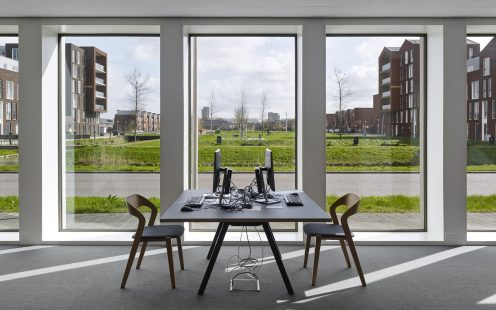 "City Archive Delft; Brick Award 2020 Category Winner Category ""Working Together""; Architects: Office Winhov, Gottlieb Paludan Architects, Photo:  Stefan Müller"